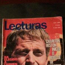 Coleccionismo de Revistas: CHARLTON HESTON-SEAT 600 PUBLICIDAD-GRACE KELLY-MISS EUROPA-KARINA-SHEILA-SOFIA LOREN. Lote 152352922