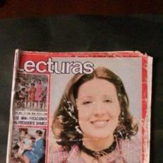 Coleccionismo de Revistas: CONCHA VELASCO-DEMIS ROUSSOS-JOHN LENNON-EMILIO ARAGON-ELTON JOHN-MURRAY HEAD-LOLITA FLORES. Lote 152352974