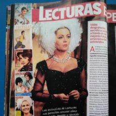 Coleccionismo de Revistas: SARA MONTIEL - RECORTE LECTURAS POCKET. Lote 152706414