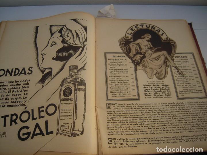 Coleccionismo de Revistas: lecturas tomo nº 2 año 1933 - Foto 2 - 153103142