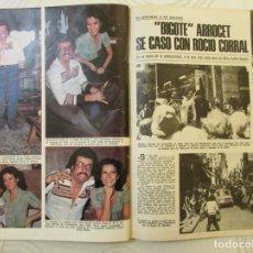 Coleccionismo de Revistas: RECORTE REVISTA LECTURAS Nº 1307 1977 BIGOTE ARROCET, ROCIO CORRAL. 3 PGS Y PORTADA. Lote 153370486