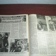 Coleccionismo de Revistas: 2 PAG. RECORTE CLIPPING -REVISTA LECTURAS AÑO 1975- LOLA FLORES Y LOLITA FRENTE A FRENTE- ENTREVISTA. Lote 153494706