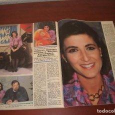 Coleccionismo de Revistas: 2 PAG. RECORTE CLIPPING -REVISTA SEMANA AÑO 1989- CONSUELO BERLANGA - ENTREVISTA. Lote 153540390