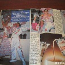 Coleccionismo de Revistas: 2 PAG. RECORTE CLIPPING-REVISTA SEMANA AÑO 1989- ANTONIO Y EVA MARIA PEDRAZA MISS ESPAÑA- ENTREVISTA. Lote 153540622