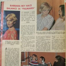Magazine Collection - RECORTE LECTURAS Nº 1279 1976 BARBARA REY. PALMARES - 153622226