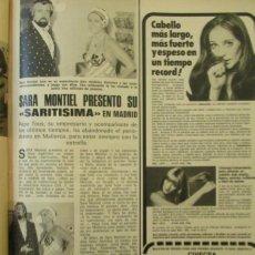 Coleccionismo de Revistas: RECORTE LECTURAS Nº 1174 1974 SARA MONTIEL, PEPE TOUS. Lote 153623842