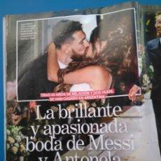 Coleccionismo de Revistas: BODA MESSI-XAVI-PIQUE-SHAKIRA-PUYOL-LUIS SUAREZ-FABREGAS-ALBA-BUSQUETS-NEYMAR-ALVES - RECORTE 3407. Lote 153651640