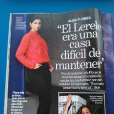 Coleccionismo de Revistas: ALBA FLORES - RECORTE LECTURAS 3444. Lote 153651868