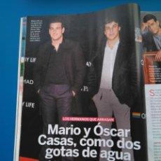 Coleccionismo de Revistas: MARIO Y OSCAR CASAS - RECORTE LECTURAS 3444. Lote 153651872