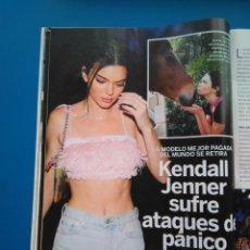 Coleccionismo de Revistas: KENDALL JENNER - RECORTE LECTURAS 3444. Lote 153651876