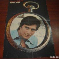 Coleccionismo de Revistas: POSTER CENTRAL MANOLO OTERO -LECTURAS AÑO 1975 - PAGINA CENTRAL SUELTA -RECORTE. Lote 153817578