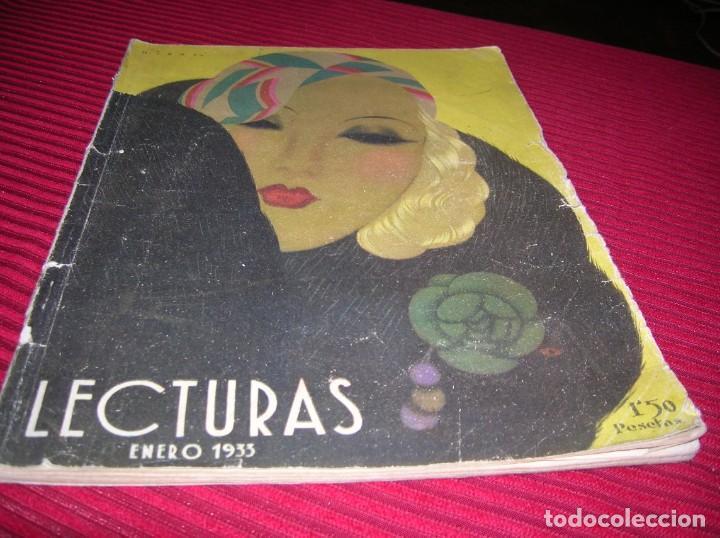 REVISTA LECTURAS,AÑO 1933 (Coleccionismo - Revistas y Periódicos Modernos (a partir de 1.940) - Revista Lecturas)