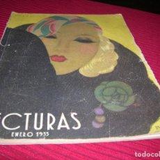 Coleccionismo de Revistas: REVISTA LECTURAS,AÑO 1933. Lote 154830606