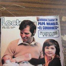 Coleccionismo de Revistas: LECTURAS 12/01/1973 EL CORDOBES - RAPHAEL - CARLOS LARRRAÑAGA Y MARIA LUISA MERLO - DAVID CASSIDY . Lote 155141338