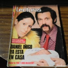 Coleccionismo de Revistas: LECTURAS 28/01/1972- DANIEL IÑIGO . Lote 155418938
