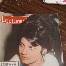 Coleccionismo de Revistas: LECTURAS 08/03/1963 SORAYA EN BARCELONA - CONCHITA BAUTISTA - EL CORDOBES - JOHNN . Lote 155502038