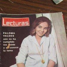 Coleccionismo de Revistas: LECTURAS AÑO 1963- PALOMA VALDES , ARTURO FERNANDEZ, AURORA BAUTISTA . Lote 155502326