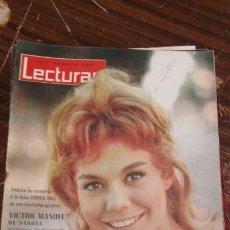 Coleccionismo de Revistas: LECTURAS ABRIL 1963 - GIORGINA MOLL - VICTOR MANUEL DE SABOYA - MARIA DORIA - TONY ARMSTRON . Lote 155502714