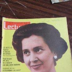 Coleccionismo de Revistas: LECTURAS AGOSTO 1963 - FRED ASTAIRE - ALEJANDRA DE KENT - LOS REYES DE BELGICA EN ESPAÑA . Lote 155502834
