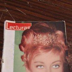 Coleccionismo de Revistas: LECTURAS MAYO 1963 - JAIME DE MORA - PRINCESA PAOLA - . Lote 155502962