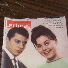 Coleccionismo de Revistas: LECTURAS 13/09/1963 - ROCIO DURCAL - REINA FABIOLA - GRACE DE MONACO . Lote 155503082