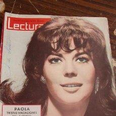 Coleccionismo de Revistas: LECTURAS MARZO 1963 - SOFIA LOREN - SANDRA MUSSOLINI - PAOLA - NATALIE WOOD . Lote 155503178