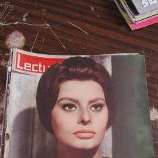 Coleccionismo de Revistas: LECTURAS FEBRERO 1963 - SOFIA LOREN - FARAH DIBA - ROMI SCHNEIDER . Lote 155503898