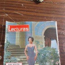 Coleccionismo de Revistas: LECTURAS JULIO 1963 - SARA MONTIEL - ALEJANDRA DE KENT - REYES DE GRECIA . Lote 155504058