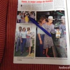Coleccionismo de Revistas: RECORTE REVISTA LECTURAS Nº1736 AÑO 1985 ROMINA POWER. Lote 155702566