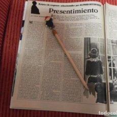 Coleccionismo de Revistas: RECORTE REVISTA LECTURAS Nº1736 AÑO 1985 RELATO ALFRED HITCHCOCK / PRESENTIMIENTO. Lote 155702714