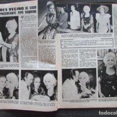 Coleccionismo de Revistas: RECORTE LECTURAS Nº 1165 1974 MERCEDES VECINO, PEPE VAQUERO, LOLA FLORES. . Lote 155885202