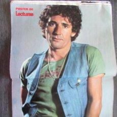 Coleccionismo de Revistas: RECORTE LECTURAS Nº 1165 1974 POSTER CENTRAL DE MIGUEL RIOS. Lote 155885390