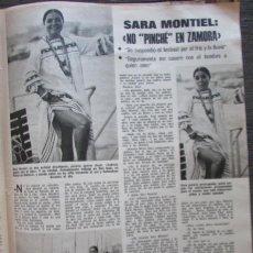 Coleccionismo de Revistas: RECORTE LECTURAS Nº 1165 1974 SARA MONTIEL. Lote 156021498