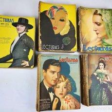 Coleccionismo de Revistas: 50 REVISTAS LECTURAS. SOCIEDAD GENERAL DE PUBLICACIONES.BARCELONA AÑOS 1930-1937. Lote 156174370