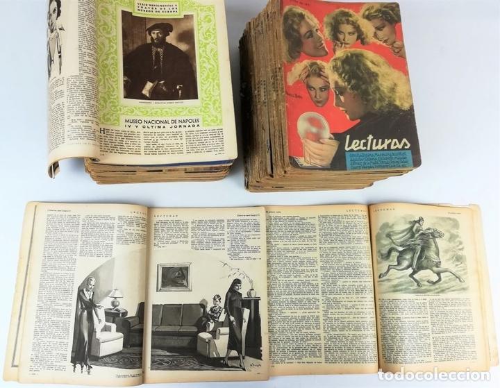 Coleccionismo de Revistas: 50 REVISTAS LECTURAS. SOCIEDAD GENERAL DE PUBLICACIONES.BARCELONA AÑOS 1930-1937 - Foto 3 - 156174370