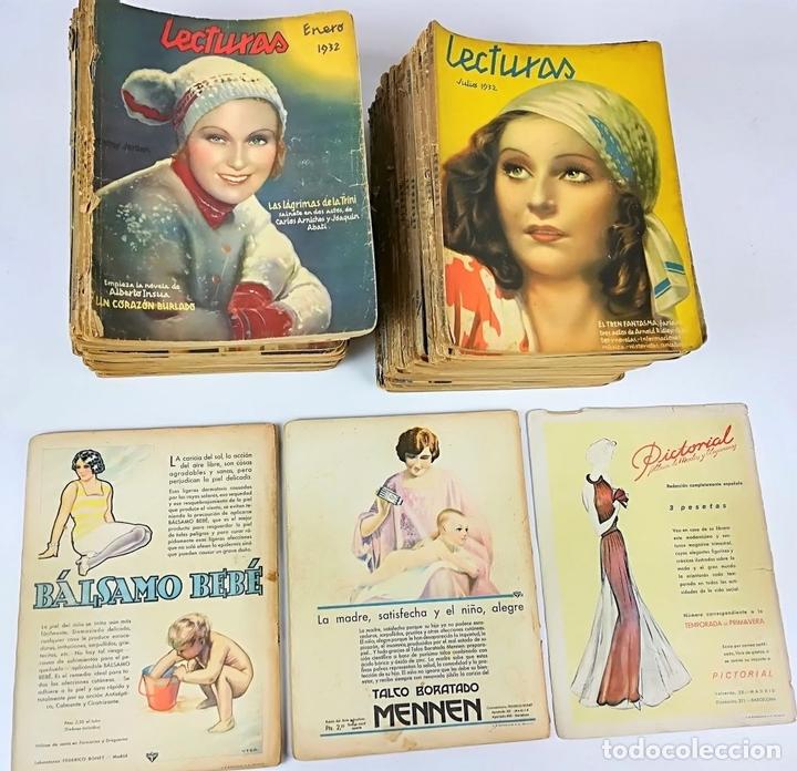 Coleccionismo de Revistas: 50 REVISTAS LECTURAS. SOCIEDAD GENERAL DE PUBLICACIONES.BARCELONA AÑOS 1930-1937 - Foto 4 - 156174370