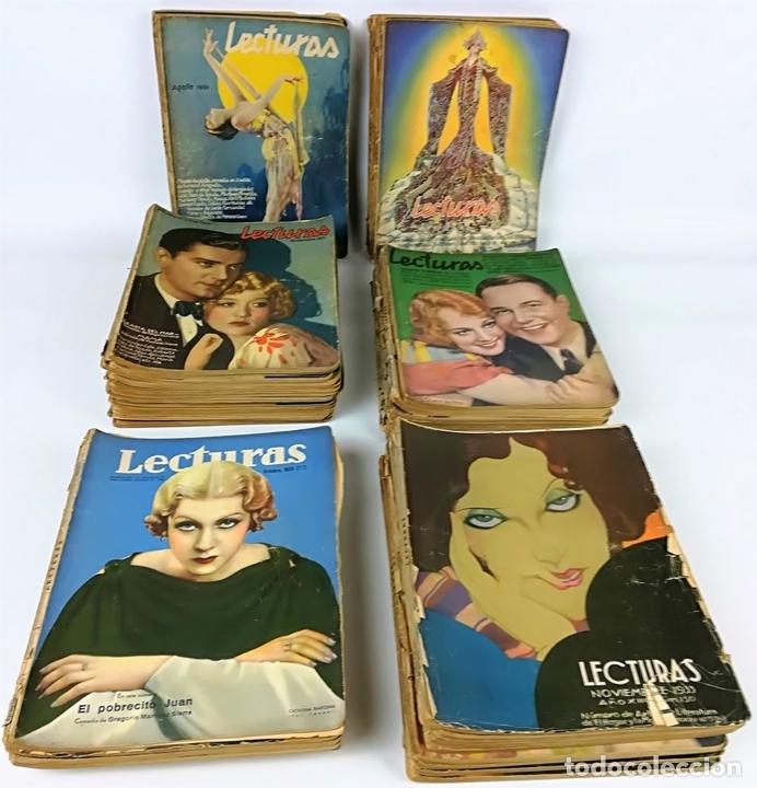 Coleccionismo de Revistas: 50 REVISTAS LECTURAS. SOCIEDAD GENERAL DE PUBLICACIONES.BARCELONA AÑOS 1930-1937 - Foto 8 - 156174370