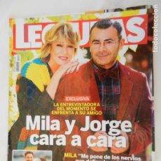 Collectionnisme de Magazines: LECTURAS , REVISTA Nº 3482, DICIEMBRE 2018 MILA Y JORGE CARA A CARA . Lote 156898206