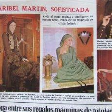 Colecionismo de Revistas: RECORTE LECTURAS Nº 1286 1976 MARIBEL MARTIN. Lote 156946186