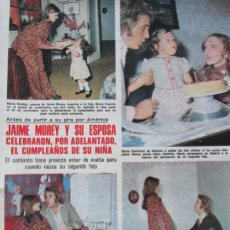Coleccionismo de Revistas: RECORTE LECTURAS Nº 1175 1974 JAIME MOREY. Lote 157193894