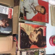 Coleccionismo de Revistas: REVISTAS LECTURAS AÑO 1960 AL 1961. Lote 157224170