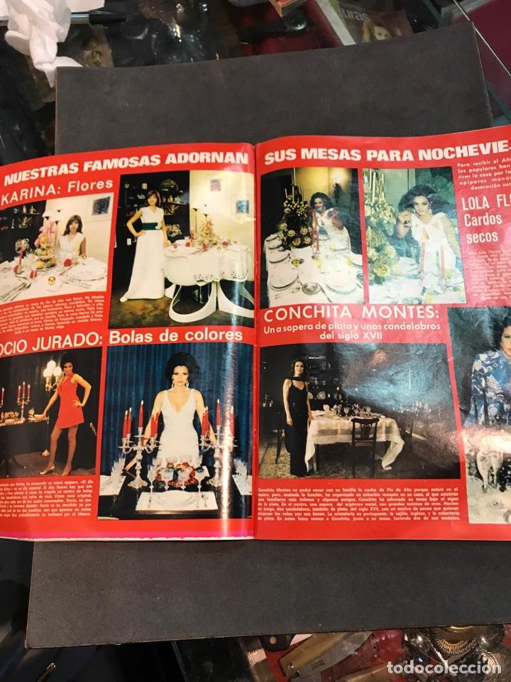 Coleccionismo de Revistas: LECTURAS REVISTA DE 1971 SIN PÓSTER CENTRAL - Foto 3 - 157750946