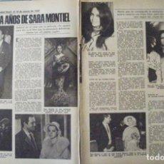 Coleccionismo de Revistas: RECORTE REVISTA LECTURAS Nº 1354 1978 SARA MONTIEL. Lote 158193950