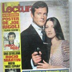 Coleccionismo de Revistas: LECTURAS - REVISTA Nº 1073 - NOVIEMBRE 1972. Lote 158204258