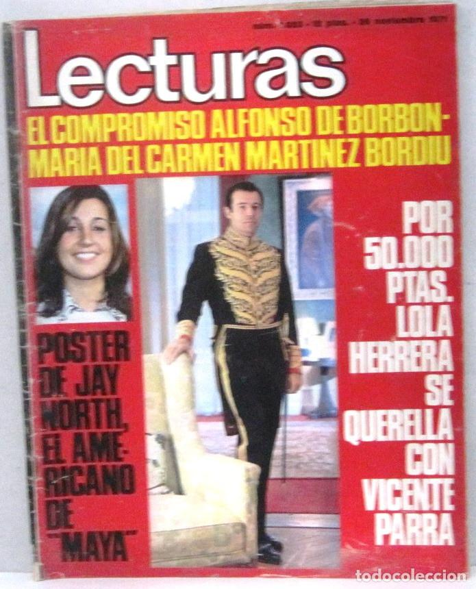 LECTURAS - REVISTA Nº 1023 - NOVIEMBRE 1971 (Coleccionismo - Revistas y Periódicos Modernos (a partir de 1.940) - Revista Lecturas)