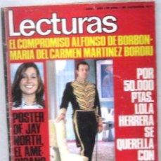 Coleccionismo de Revistas: LECTURAS - REVISTA Nº 1023 - NOVIEMBRE 1971. Lote 158205146
