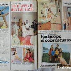 Coleccionismo de Revistas: RECORTE REVISTA LECTURAS Nº 1270 1976 MASSIEL. Lote 158263410
