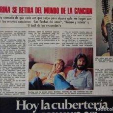 Coleccionismo de Revistas: RECORTE REVISTA LECTURAS Nº 1260 1976 KARINA. Lote 158413606