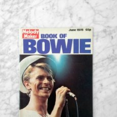 Coleccionismo de Revistas: MELODY MAKER - 1978 - DAVID BOWIE. Lote 159414862