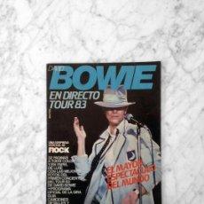 Coleccionismo de Revistas: DAVID BOWIE EN DIRECTO TOUR 83. Lote 159415522